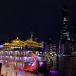 Monacobor Shanghai Boat and Skyline