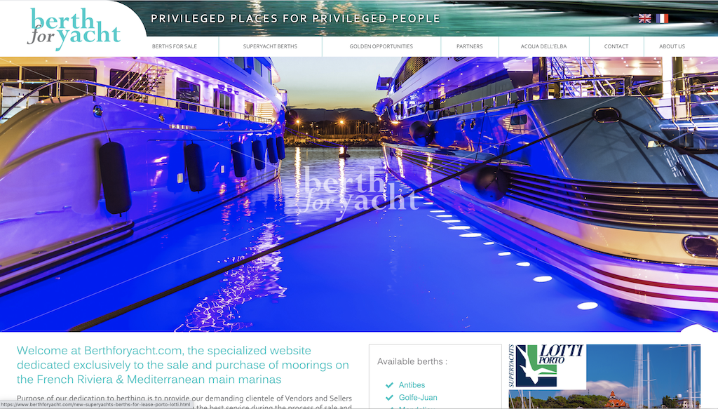 BFY site Web yachting Baccana Monaco Consulting 1