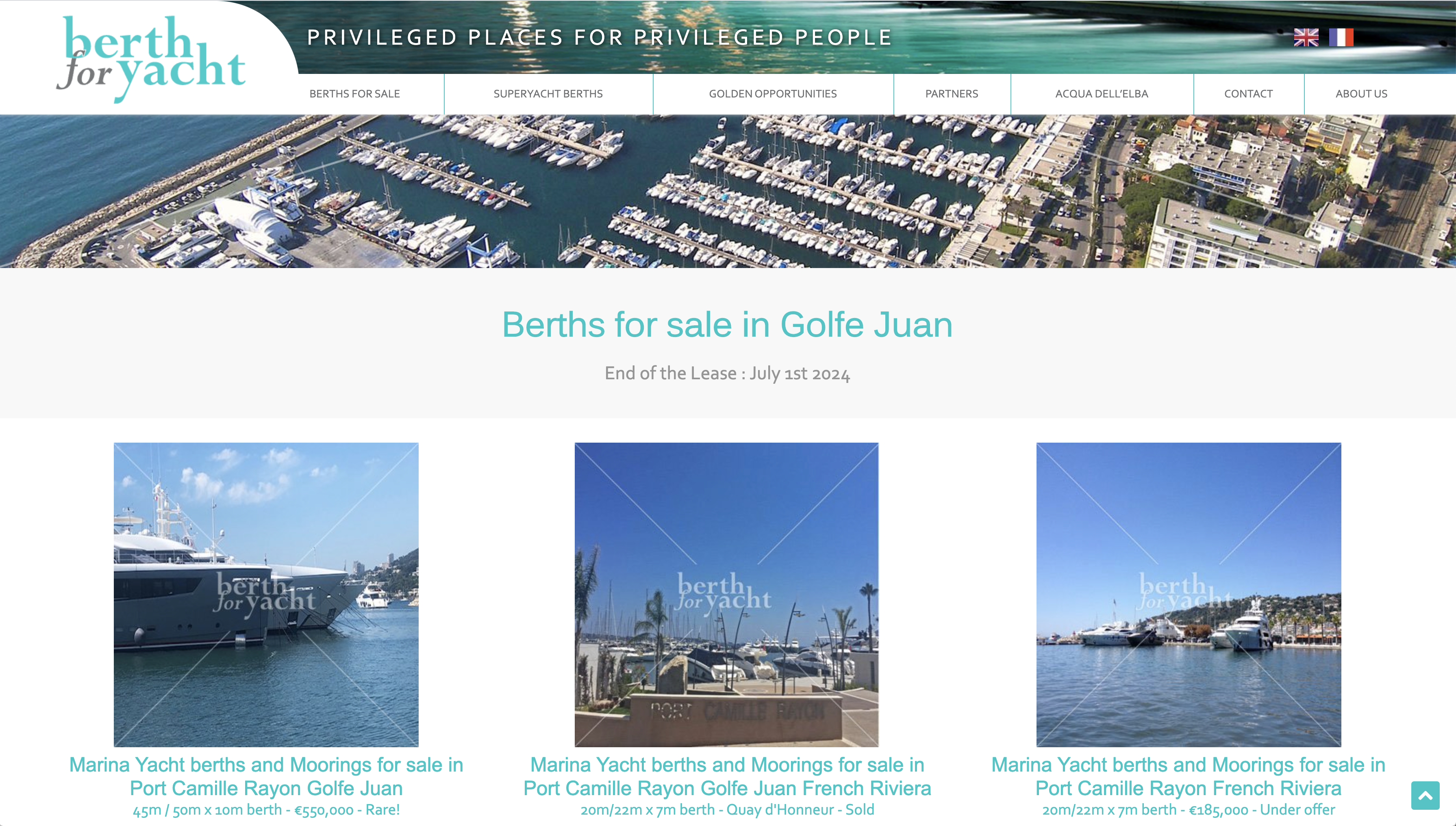 BFY site Web yachting Baccana Monaco Consulting 2