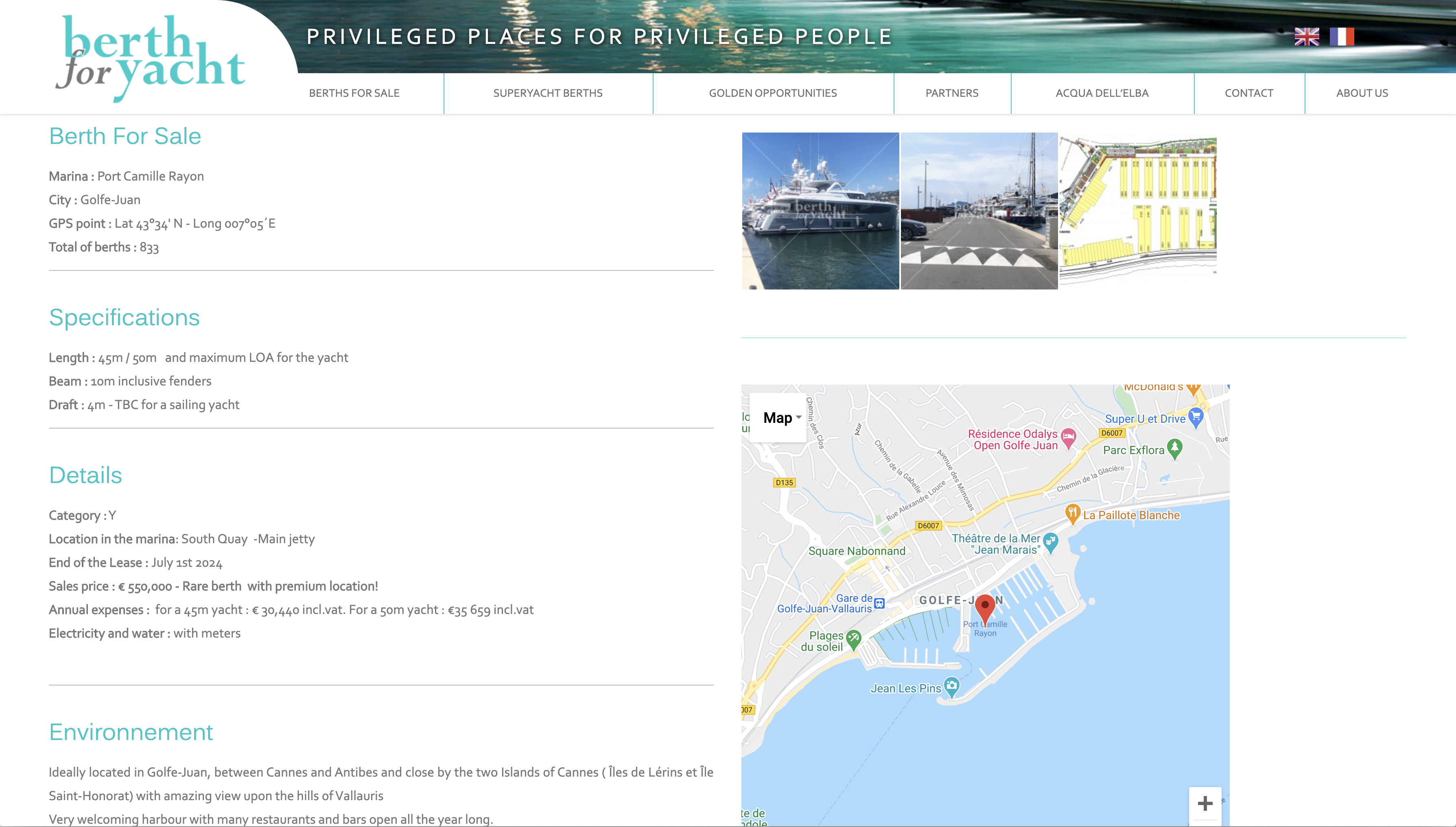 BFY site Web yachting Baccana Monaco Consulting 3