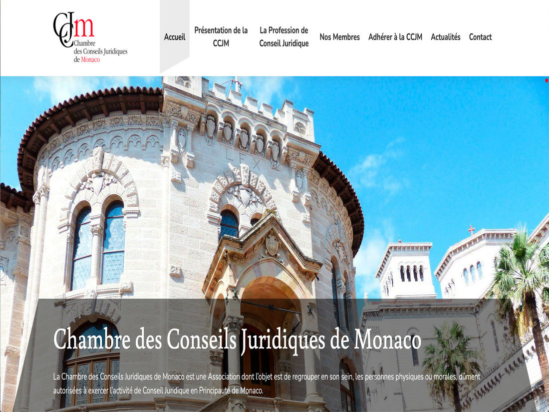 Website Creation Monaco - CCJM