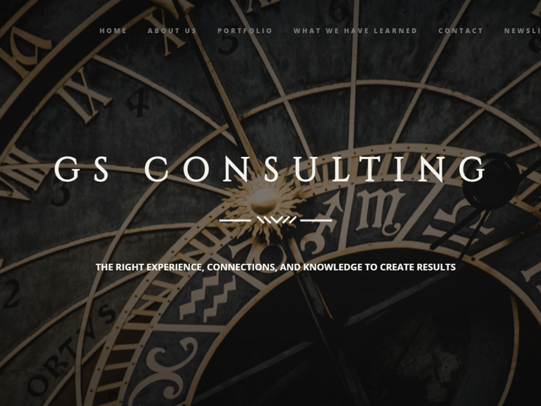 gs consulting site luxe