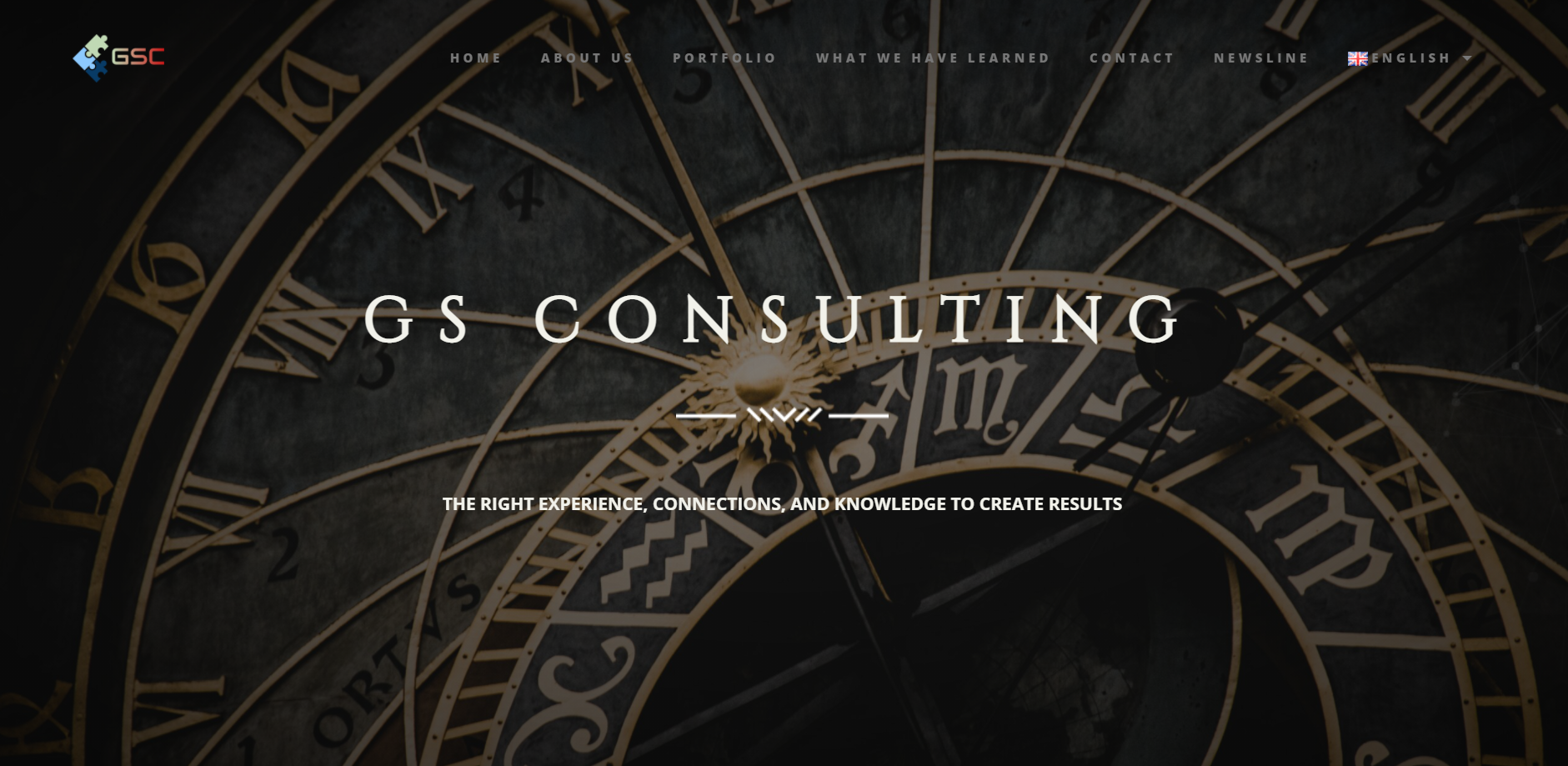 gs consulting luxury website creation